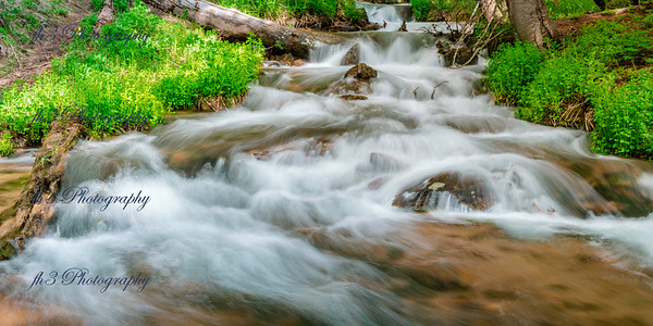 Stream along Guanella Pass camp ground