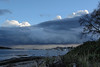 Storm Clouds over Juan de Fuca Strait from Willows Beach