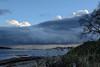 Storm Clouds over Juan de Fuca Strait from Willows Beach