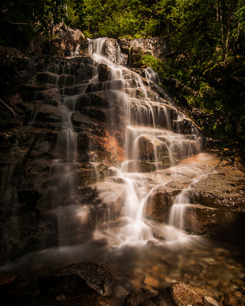 Swiftwater Falls, Falling Waters Trail - White-Mountains, New Hampshire