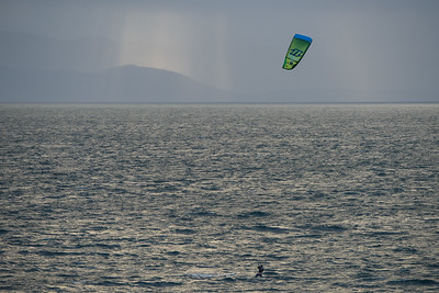 Kite Surfing along Dallas Waterfront