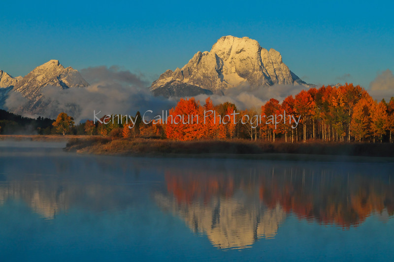 Mt. Moran With Fall Colors