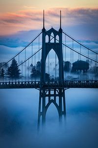 Misty Arches
