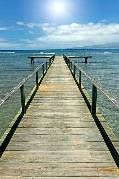 """Tranquility Boat Dock"" - Hawaii"