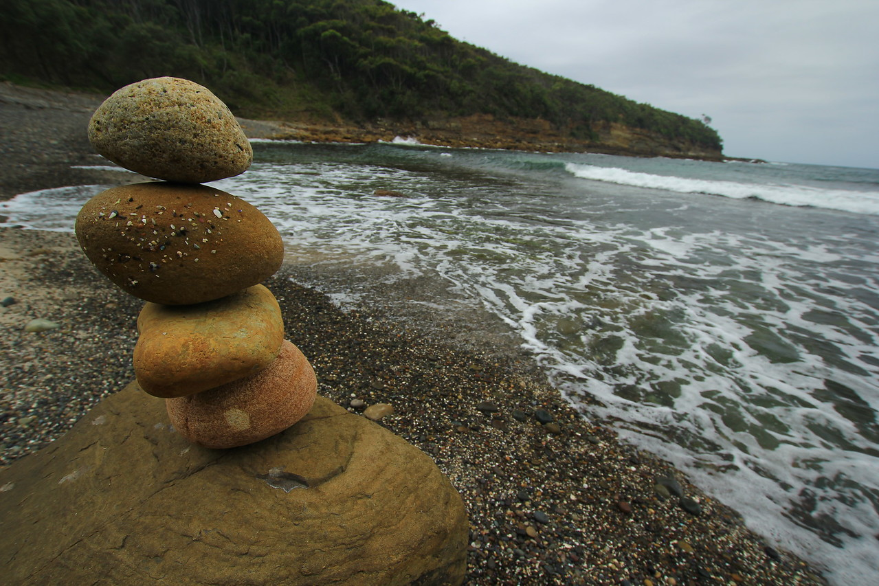 Leaning Pebbles