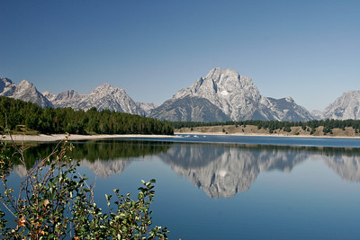 Jackson Lake, Grand Teton National Park, Wyoming,  August 2007