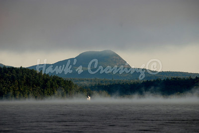 """Castle in Morning Mist"""