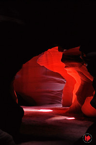 """The Light Within"", Upper Antelope Canyon, Paige, Arizona"