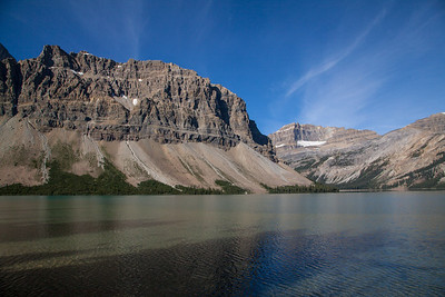 Bow Lake, Banff National Park - looking NW (August 2012)