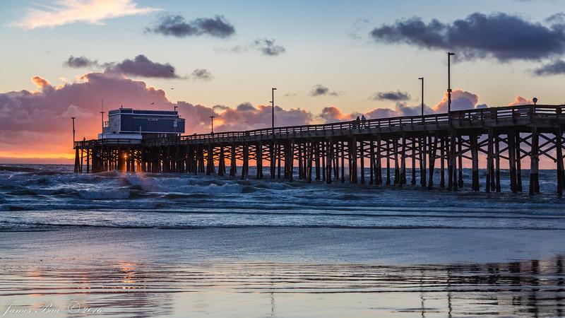Newport Municipal Pier, Newport Beach, CA