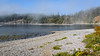 Foggy day at Esquimalt Lagoon