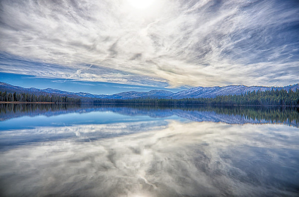Warm Lake Reflections