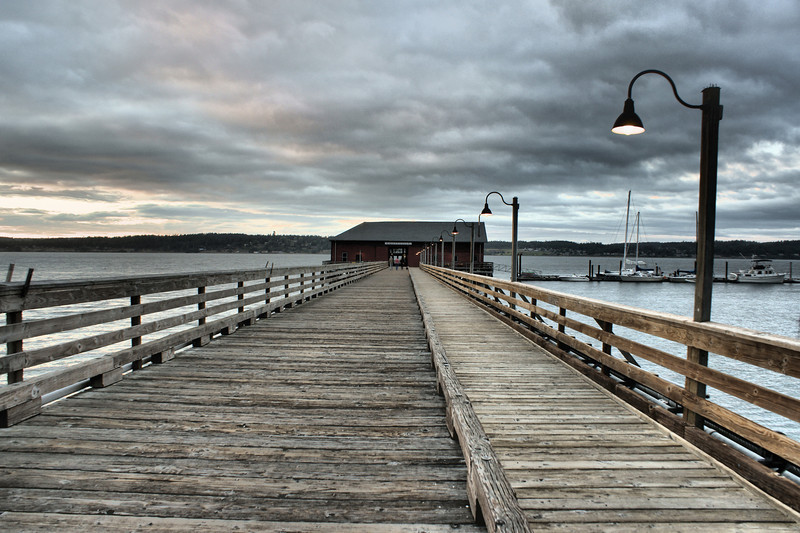 Pier at Coupeville WA