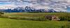 Panorma, Grand Tetons