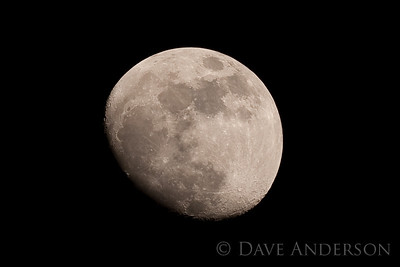 The Moon as seen through Minolta 500 f8 mirror lens on Sony a900. Hard to choose the best of these two(1 of 2)