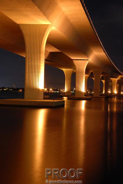 Roosevelt Bridge in Stuart, Florida
