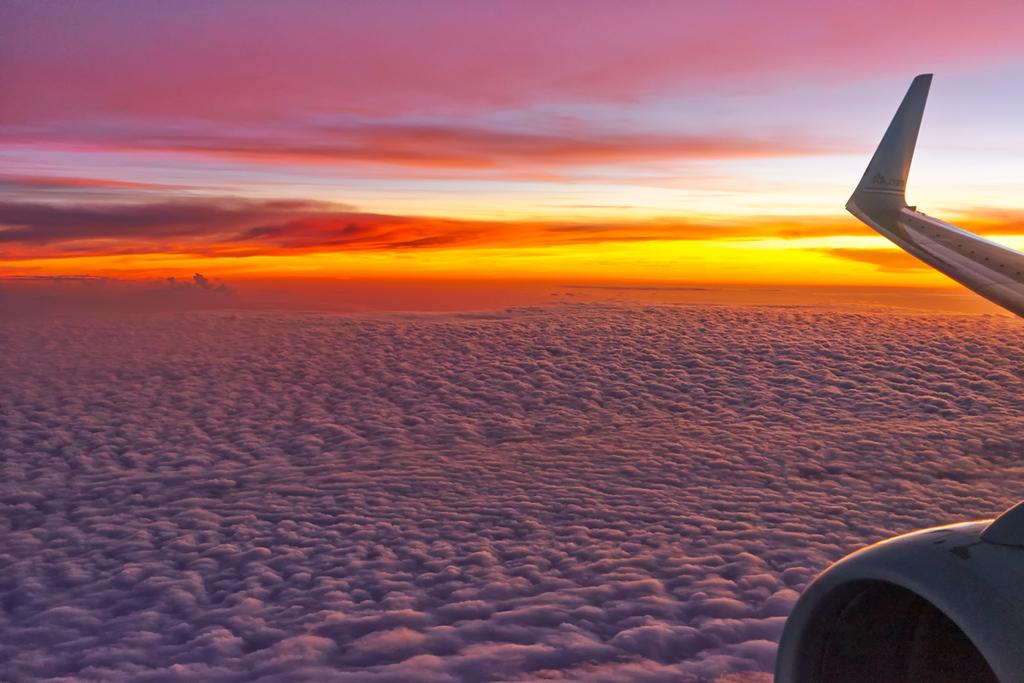 Sunset over Nicaragua