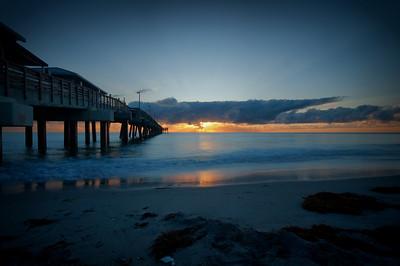 Dania Beach Sunrise Dania Beach, Florida © 2009