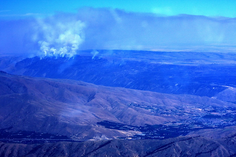 Wenatchee Valley fire ~ July 2008