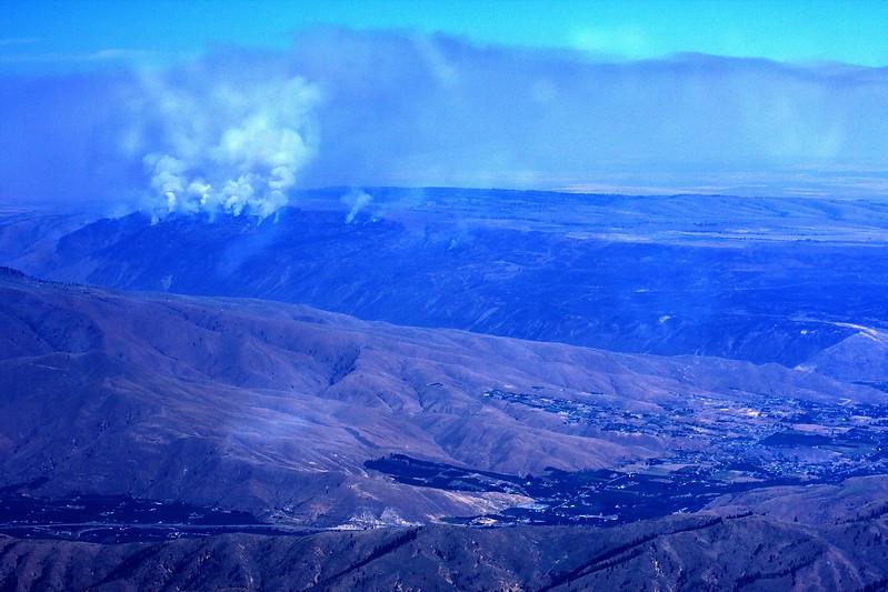 Wenatchee Valley fire ~ July 2008