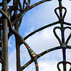 Watts Towers: Ironwork and Sky