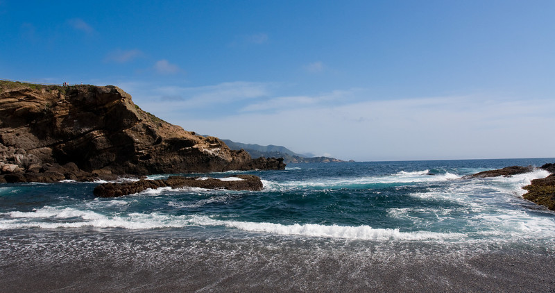 A shot from Point Lobos looking south along the coast