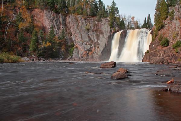 High Falls, Baptism River, Tettegouche State Park