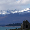 New Zealand, Church of the Sheppard, Southern Alps, Mount Cook Copyright Chris Collard - All rights reserved