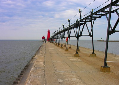 2006 Mich Trip 132 - Grand Haven Pier enhanced