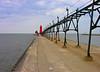 2006 Mich Trip 132 - Grand Haven Pier enhanced