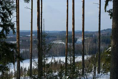 Näkymä Kaltimojärven yli - View over Kaltimojärvi