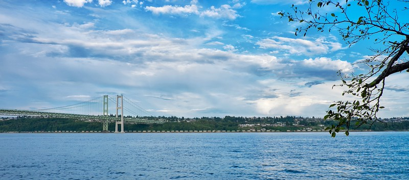Tacoma Narrows Bridge, Tacoma, Washington