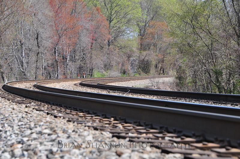 Quiet railway