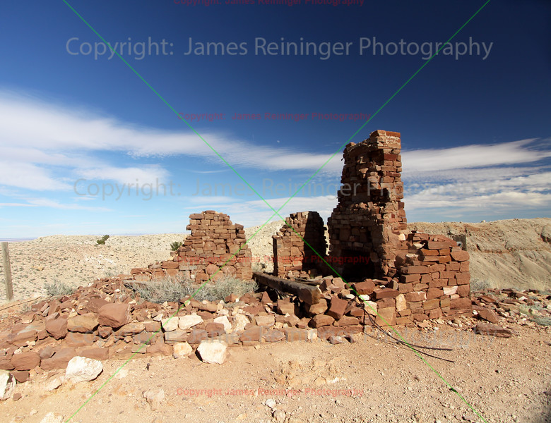 Ruins at Meteor Crater