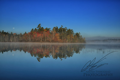 Early Autumn in Maine