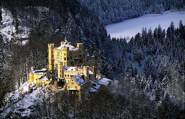 Bavarian Castle in Winter