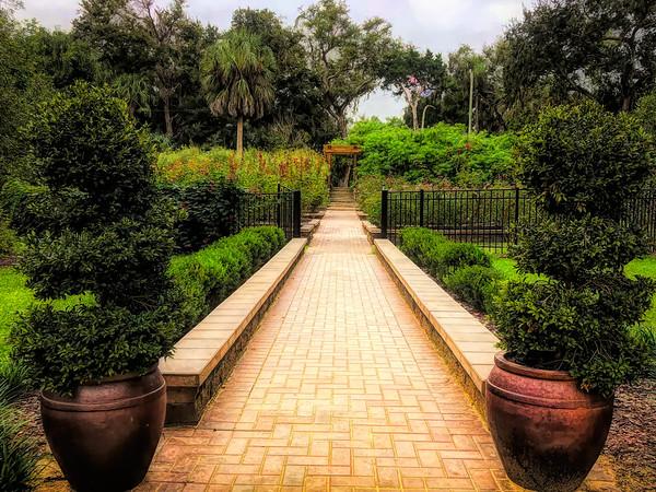 Rose Garden Path