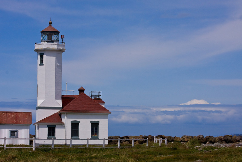 Light House at Fort Worden, Pt. Townsend, WA