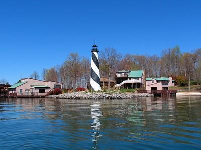 Lighthouse on Smith Mtn. Lake, Va.