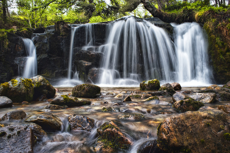 A dull day gave an ideal opportunity to test the 3 stop ND filter, slow shutter, Velvia and a little bit of Color efex.
