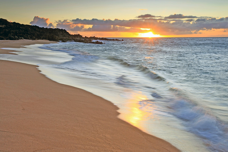 """Sunset at Polihua"" - Island of Lana'i, Hawaii"
