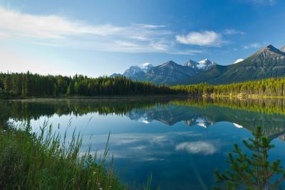 Herbert Lake Banff National Park Alberta, Canada © 2011