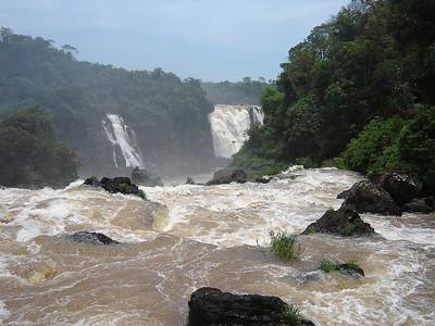 Iguassu Falls, Brazil.  November, 2009.