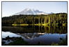 Mount Rainier Reflection, Washington<br /> September 2008