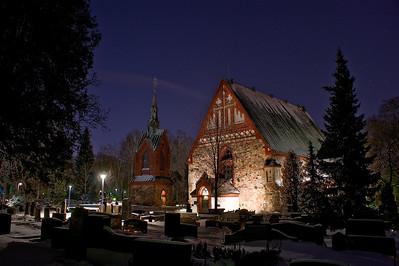 Vantaan Pyhän Laurin kirkko - The Church of St. Lawrence at Vantaa Vantaa 2012