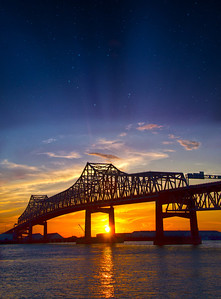 Mississippi River Bridge in Baton Rouge