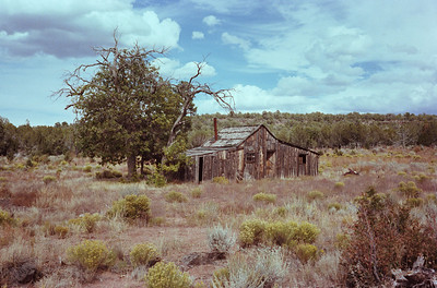 """Ranch House"", Poverty Knoll, Arizona Strip, 1978"