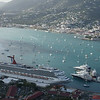 Paradise Point St Thomas USVI. Spectacular view of the harbor!
