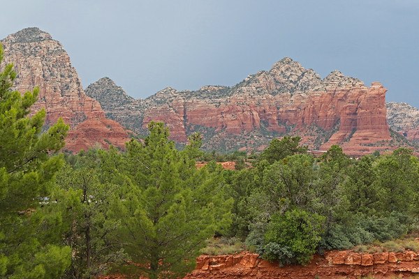 Trees And Red Rock, Sedona, Arizona, #1