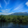 Mount Katahdin along the Penobscot River